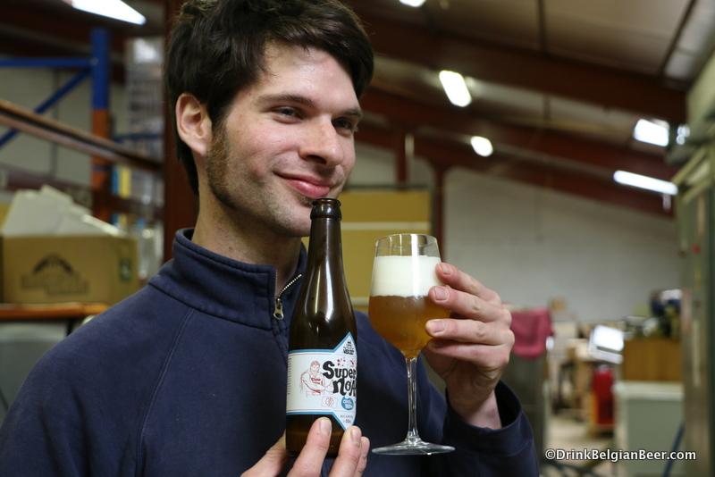 Koen Van Lancker, co-founder of Brouwerij 't Verzet.