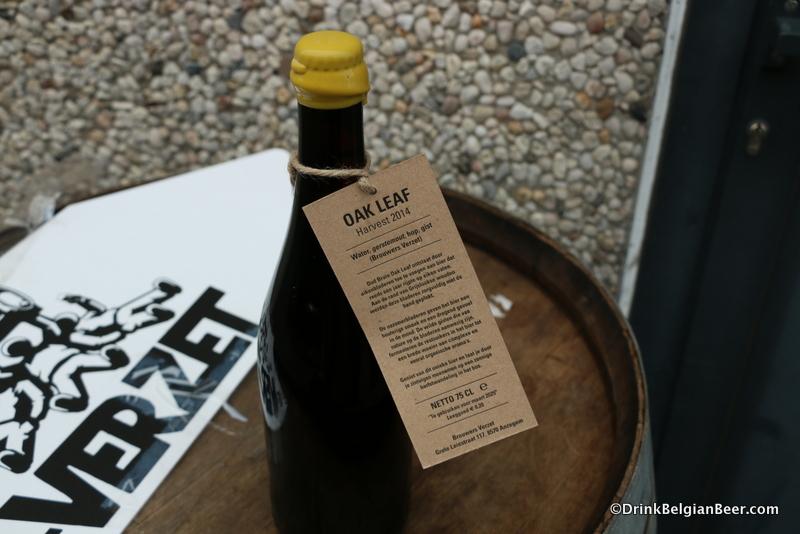Brouwerij 't Verzet Oud Bruin Oak Leaf Harvest 2014.