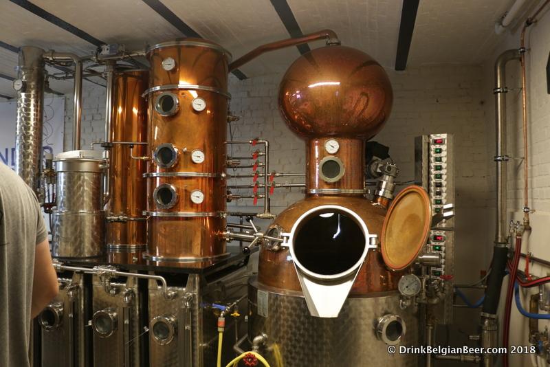 Stokerij (distillery) Vanderlinden, Hasselt, Belgium.