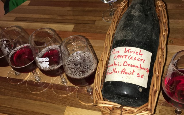 Pure Kriek Cantillon 1996: The inspiration for Brasserie Cantillon's Lou Pepe Kriek