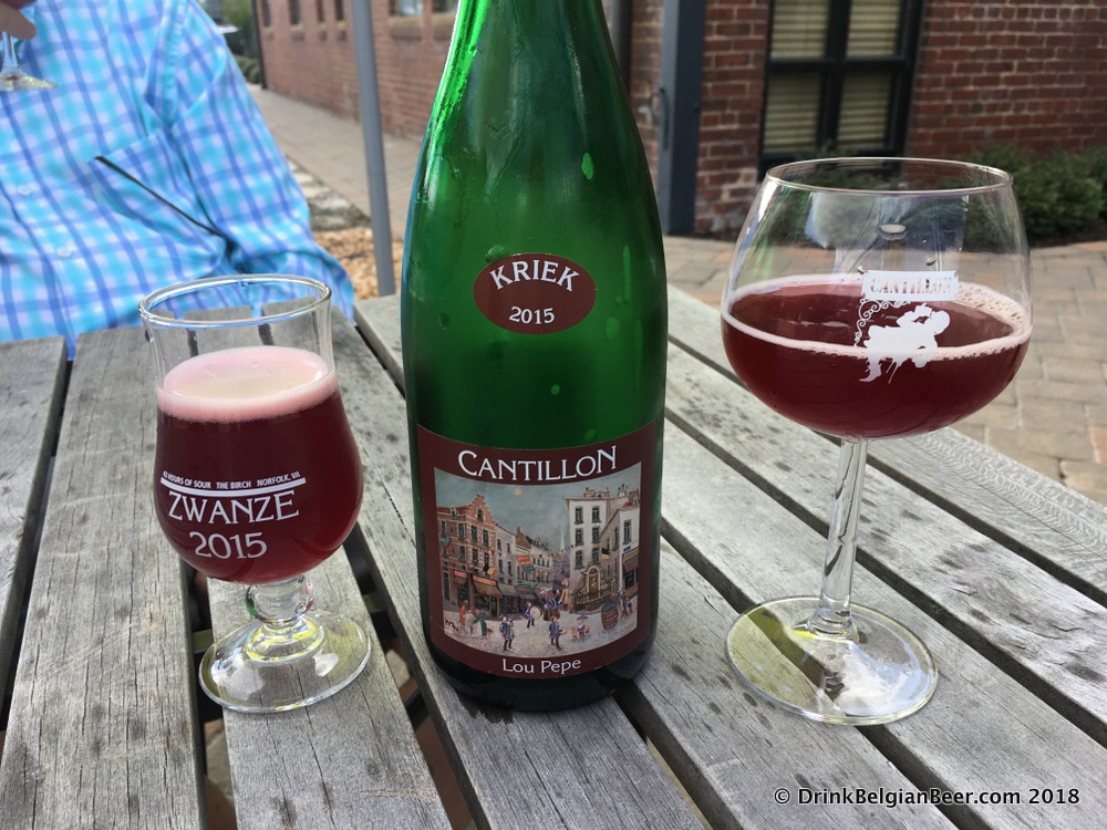 Brasserie Cantillon Lou Pepe Kriek 2015. Bottled September 2017.