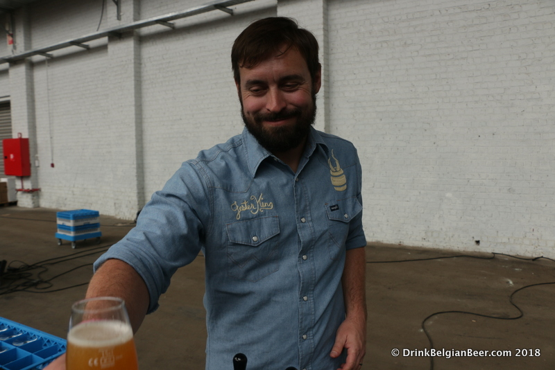 Jeffrey Stuffings, Owner and Founder of Jester King Brewery, Austin, Texas.