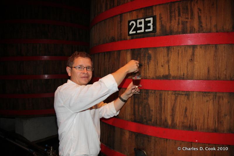 Rudi Ghequire, brewmaster, Brouwerij Rodenbach.