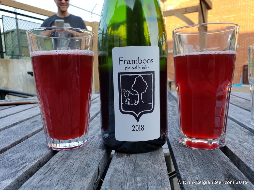Bokke Framboos Pjassel Kriek 2018.