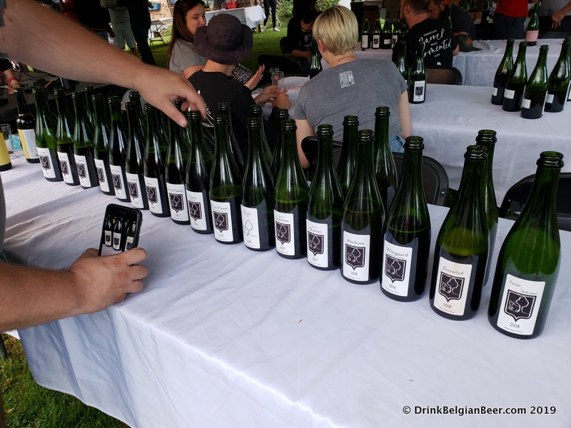 Some of the Bokke bottles on offer at The Night of the Great Thirst, August 24, 2019.