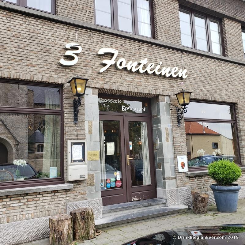 Restaurant 3 Fonteinen in Beersel, Belgium.