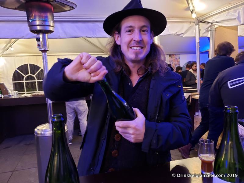 Tom Jacobs of Antidoot-Wilde Fermenten.